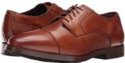 Jay Grand Cap Oxford (British Tan) Men's Lace up casual Shoes