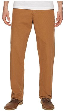 Relaxed Fit Carpenter Duck Jean (Rinsed Brown Duck) Men's Jeans