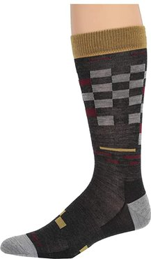 Derby Crew Light (Charcoal) Men's Crew Cut Socks Shoes
