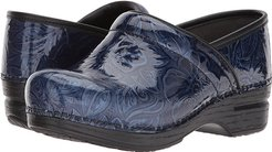 Pro XP (Navy Tooled Patent) Women's Clog Shoes