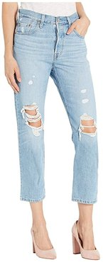 Premium 501 Crop (Montgomery Patched) Women's Jeans