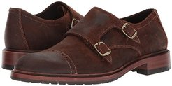 Langston (Brown Waxed Suede) Men's Shoes