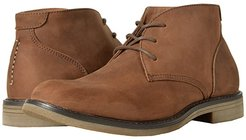 Lancaster Plain Toe Chukka Boot (Brown Leather) Men's Lace-up Boots