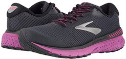 Adrenaline GTS 20 (Ebony/Black/Hollyhock) Women's Running Shoes