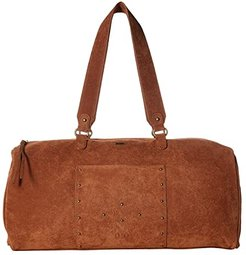 Aqua Blue Water Weekender Bag (Camel) Weekender/Overnight Luggage