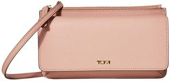Belden Wallet Crossbody (Blush) Handbags