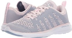 Athletic Propulsion Labs (APL) Techloom Pro (Bleached Pink/Grey Denim/White) Women's Shoes