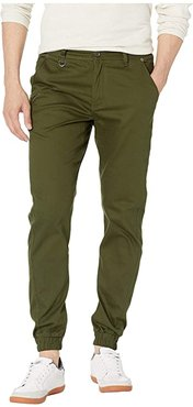 Index Jogger (Olive) Men's Casual Pants