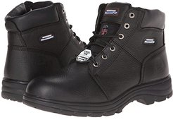 Workshire - Relaxed Fit (Black) Men's Lace-up Boots