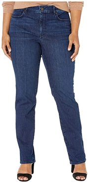 Plus Size Marilyn Straight in Denslowe (Denslowe) Women's Jeans