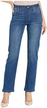 Gia Glider/Revolutionary Pull-On Straight Jeans in Cartersville (Cartersville) Women's Jeans