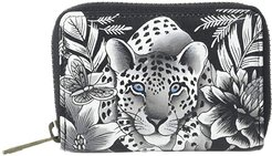 Credit And Business Card Holder 1110 (Cleopatra's Leopard) Coin Purse