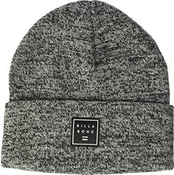 Stacked Heather Beanie (Black) Caps