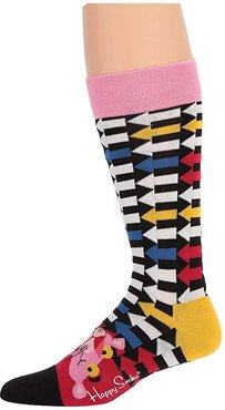 Pink Panther Jet Pink Sock (Navy/Red) Crew Cut Socks Shoes