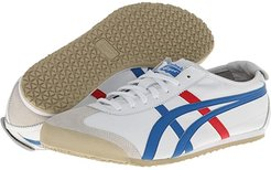 Mexico 66 (White/Blue) Lace up casual Shoes