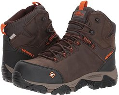 Phaserbound Mid Waterproof CT (Espresso) Men's Work Lace-up Boots