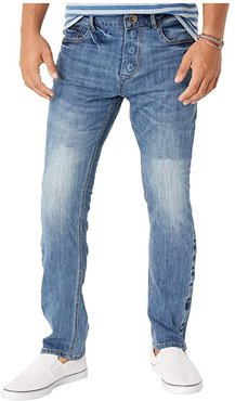 Adaptive Slim Straight Jeans w/ Magnetic Closure in Belmore (Belmore) Men's Jeans