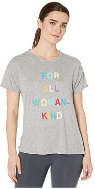 Brice For All Woman Kind Tee (Light Heather Grey) Women's Clothing