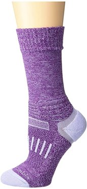 Hike - Thermolite Pro On the Right Path Crew 1-Pack (Wild Iris) Crew Cut Socks Shoes
