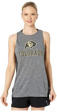 Colorado Buffaloes Marathon III Tank (Black) Women's Sleeveless