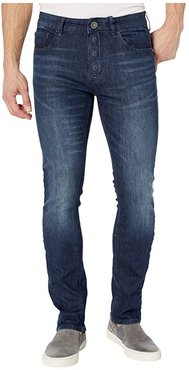 Adaptive Slim Straight Jeans w/ Magnetic and Micro Velcro(r) Closure in Vouvant Dark (Vouvant Dark) Men's Jeans