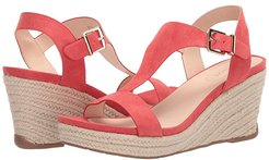 Card Wedge (Spiced Coral) Women's Wedge Shoes