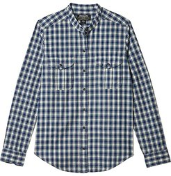 Kadin Island Shirt (Indigo/Cream Plaid) Women's Clothing