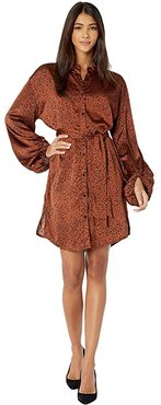 Bishop + Young Naomi Belted Dress (Print) Women's Clothing
