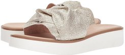 Coast (Platinum Metallic) Women's Slide Shoes