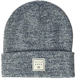 Stacked Heather Beanie (Dark Blue) Caps
