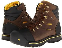 Milwaukee WP (Dark Earth) Men's Work Lace-up Boots