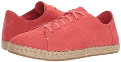 Lena (Hibiscus Suede) Women's Lace up casual Shoes