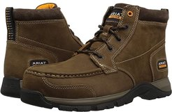 Edge LTE Chukka Composite Toe (Dark Brown) Men's Work Boots