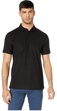 Index Short Sleeve Polo (Black) Men's Clothing