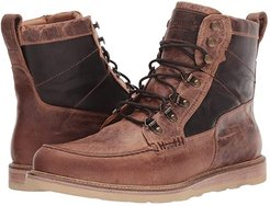 Lace-Up Range Boot (Tan Distressed Goat) Men's Boots