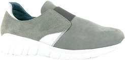 Intrepid (Gray Nubuck/Speckled Beige Leather/Silver Mirror Leather) Women's Shoes