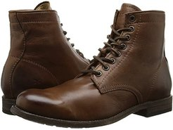 Tyler Lace Up (Cognac Soft Vintage Leather) Men's Lace-up Boots