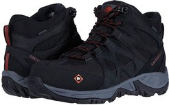 Siren Mid Waterproof Alloy Toe (Black) Women's Shoes