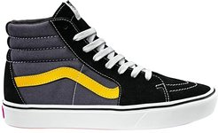 ComfyCush SK8-Hi ((Tri-Tone) Black/Asphalt/Lemon Chrome) Athletic Shoes