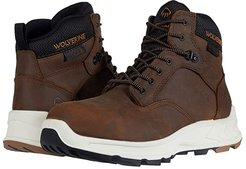 ShiftPLUS Work LX 6 Alloy-Toe Boot (Brown) Men's Work Lace-up Boots