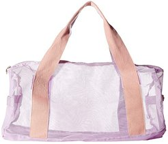Work It Out Mesh Gym Bag (Take Care) Duffel Bags