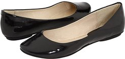 Slip On By (Black Patent) Women's Flat Shoes