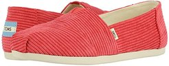 Alpargata 3.0 (TOMS Red Micro Cord) Women's Shoes