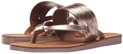 Mosaic (Rose Gold Leather) Women's Sandals