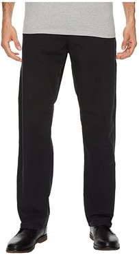 Relaxed Fit Carpenter Duck Jean (Rinsed Black) Men's Jeans