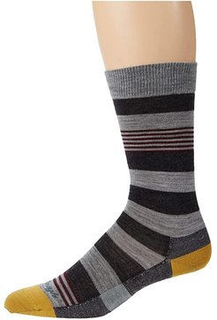 Oxford Crew Lightweight (Gray) Men's Crew Cut Socks Shoes