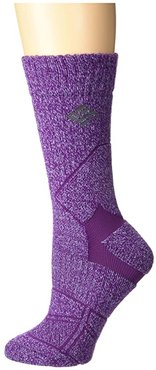 Hiking Medium Weight Crew (Wild Iris) Crew Cut Socks Shoes