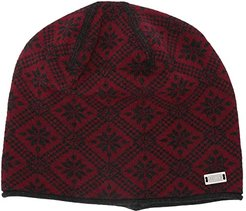 Christiania Hat (Ruby Melange/Dark Charcoal) Beanies