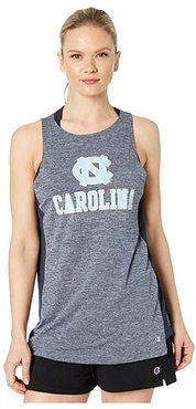 North Carolina Tar Heels Marathon III Tank (Navy) Women's Sleeveless
