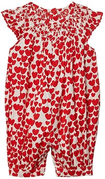 Hearts All-In-One (Infant) (Red) Girl's Jumpsuit & Rompers One Piece